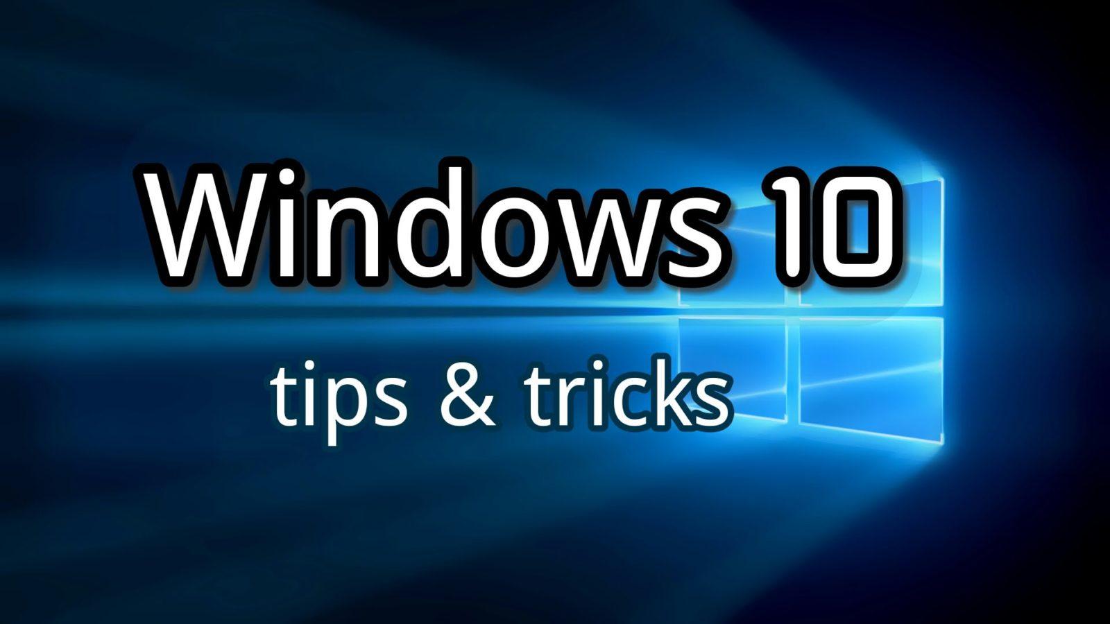 windows 10 funzioni nascoste
