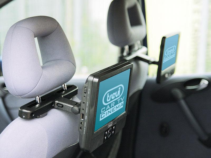 tv per auto