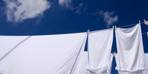 lenzuola bianche